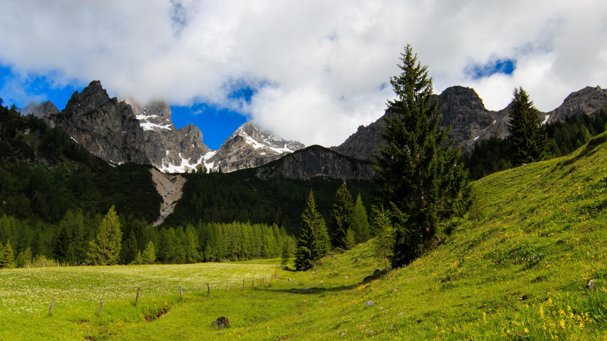 Bergpanorama Bischofsmütze
