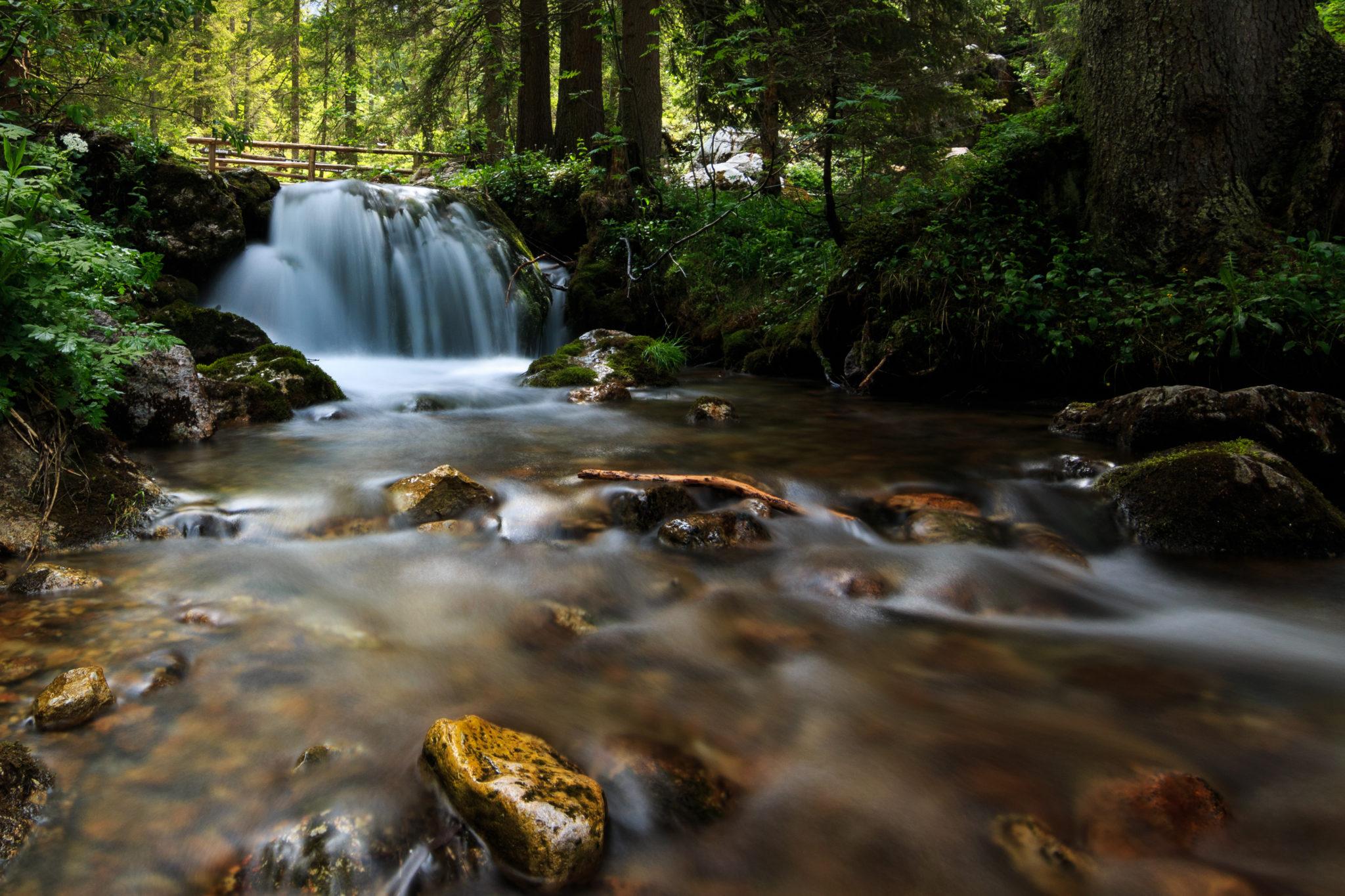 Wasserfall bei den Hofalmen