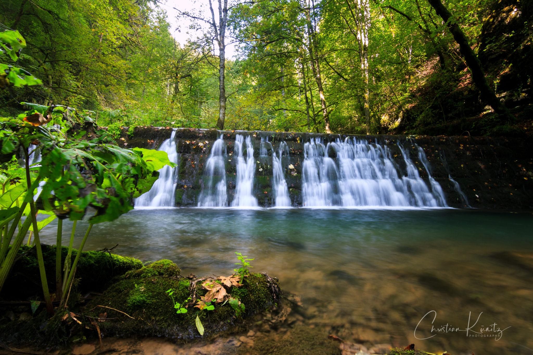 Gauchachschlucht Wasserfall